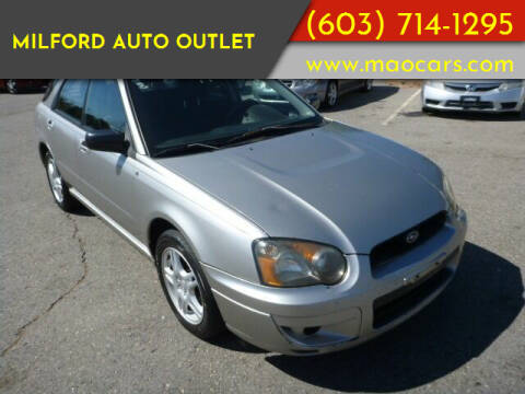 2005 Subaru Impreza for sale at Milford Auto Outlet in Milford NH