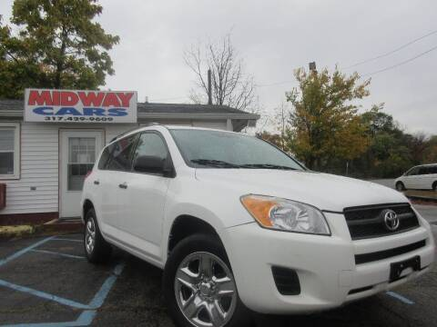 2011 Toyota RAV4 for sale at Midway Cars LLC in Indianapolis IN