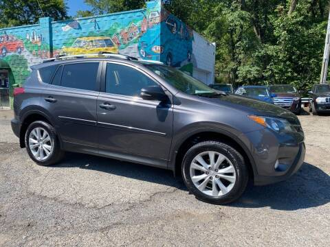 2013 Toyota RAV4 for sale at Showcase Motors in Pittsburgh PA