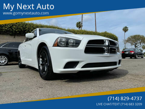 2012 Dodge Charger for sale at My Next Auto in Anaheim CA