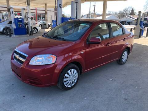 2007 Chevrolet Aveo for sale at JE Auto Sales LLC in Indianapolis IN