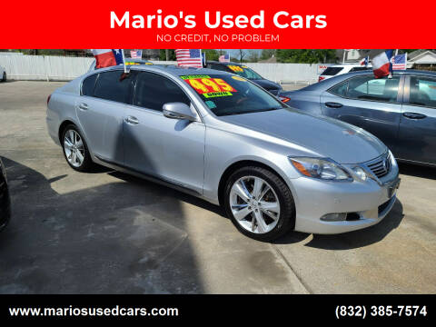 2011 Lexus GS 450h for sale at Mario's Used Cars - South Houston Location in South Houston TX