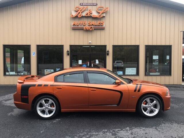 2011 Dodge Charger for sale at K & L AUTO SALES, INC in Mill Hall PA