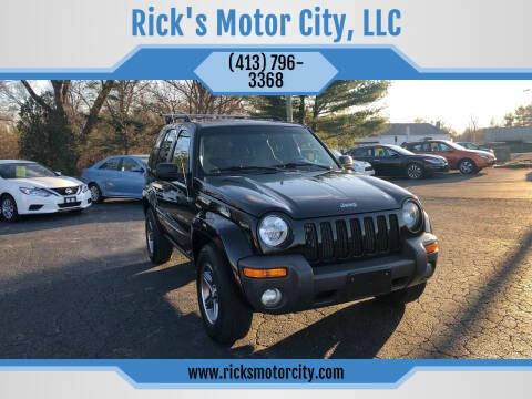2004 Jeep Liberty for sale at Rick's Motor City, LLC in Springfield MA
