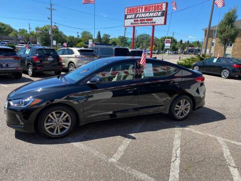 2018 Hyundai Elantra for sale at Christy Motors in Crystal MN