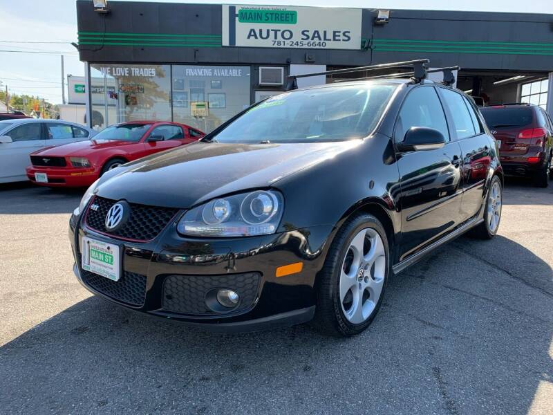 2008 Volkswagen GTI for sale at Wakefield Auto Sales of Main Street Inc. in Wakefield MA