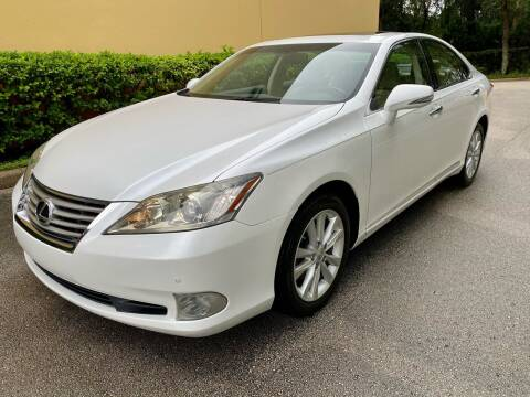 2012 Lexus ES 350 for sale at DENMARK AUTO BROKERS in Riviera Beach FL