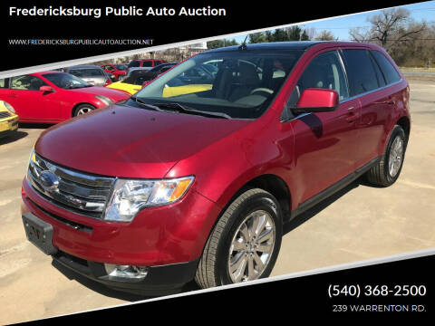 2008 Ford Edge for sale at FPAA in Fredericksburg VA