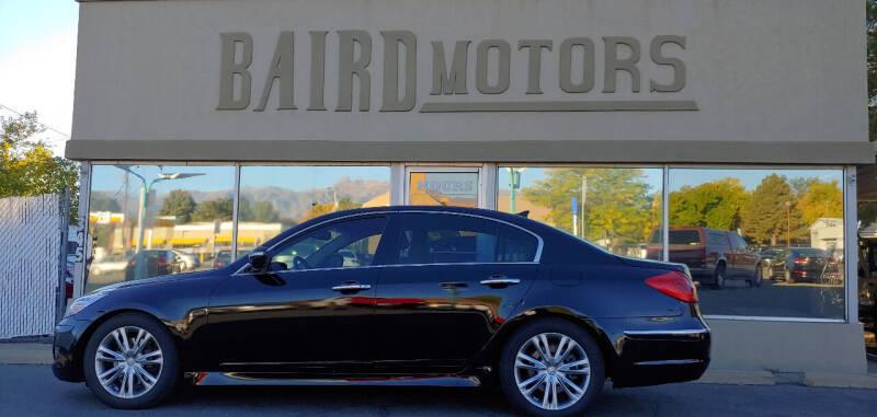 2012 Hyundai Genesis for sale at BAIRD MOTORS in Clearfield UT