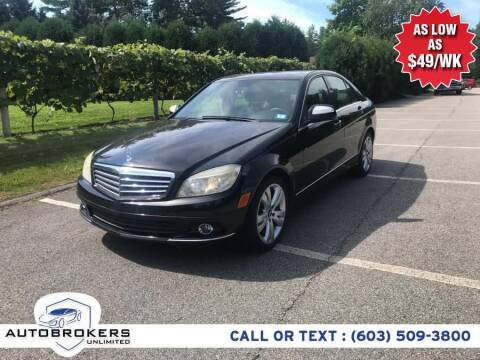 2008 Mercedes-Benz C-Class for sale at Auto Brokers Unlimited in Derry NH