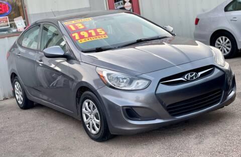 2013 Hyundai Accent for sale at SOLOMA AUTO SALES in Grand Island NE