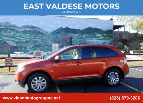2007 Ford Edge for sale at EAST VALDESE MOTORS in Valdese NC