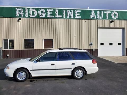 1997 Subaru Legacy for sale at RIDGELINE AUTO in Chubbuck ID