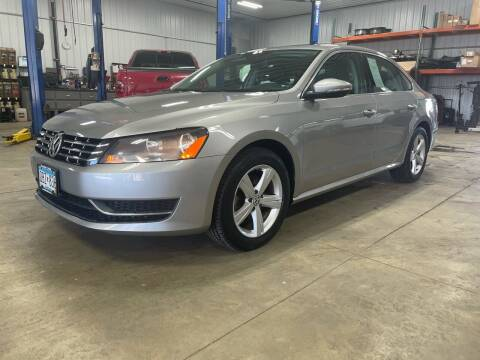2012 Volkswagen Passat for sale at Southwest Sales and Service in Redwood Falls MN