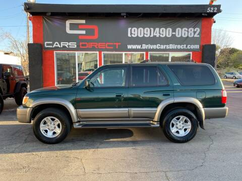 2000 Toyota 4Runner for sale at Cars Direct in Ontario CA