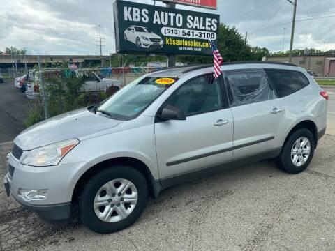 2010 Chevrolet Traverse for sale at KBS Auto Sales in Cincinnati OH
