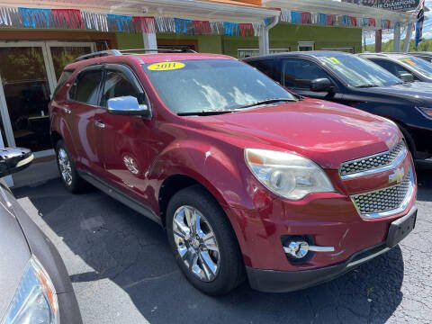 2011 Chevrolet Equinox for sale at PIONEER USED AUTOS & RV SALES in Lavalette WV