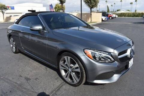 2017 Mercedes-Benz C-Class for sale at DIAMOND VALLEY HONDA in Hemet CA