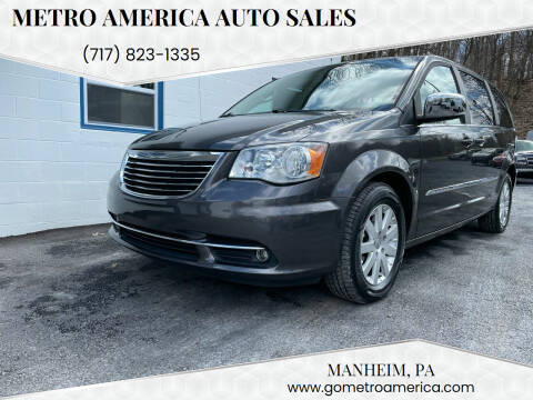 2015 Chrysler Town and Country for sale at METRO AMERICA AUTO SALES of Manheim in Manheim PA