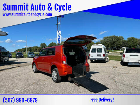 2012 Scion xB for sale at Summit Auto & Cycle in Zumbrota MN