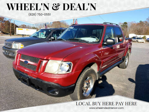 2001 Ford Explorer Sport Trac for sale at Wheel'n & Deal'n in Lenoir NC
