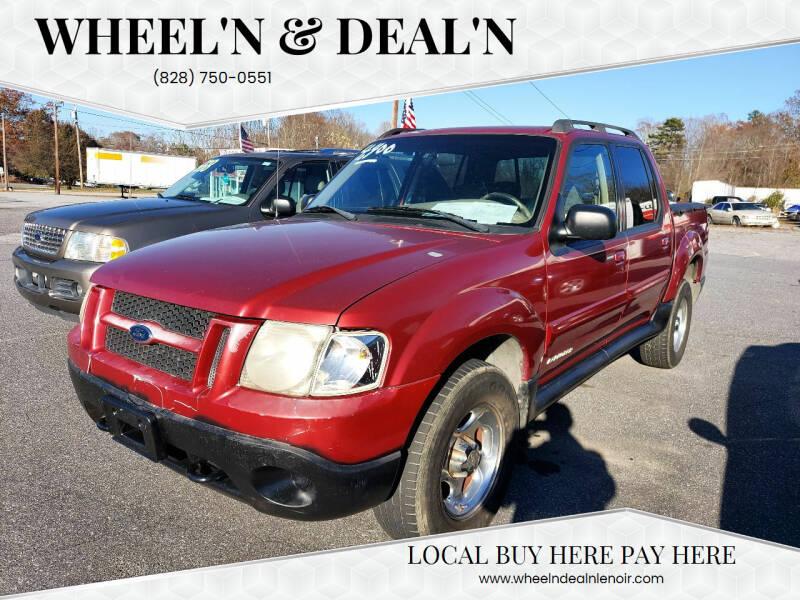 2001 Ford Explorer Sport Trac for sale at Wheel'n & Deal'n in Lenoir NC