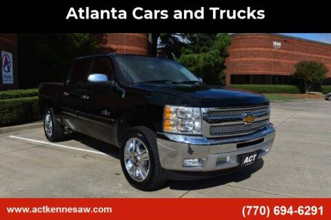 2012 Chevrolet Silverado 1500 for sale at Atlanta Cars and Trucks in Kennesaw GA