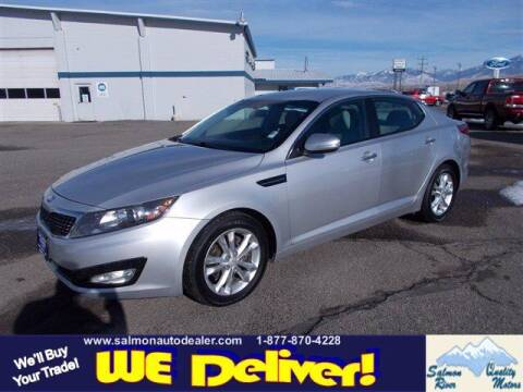 2013 Kia Optima for sale at QUALITY MOTORS in Salmon ID