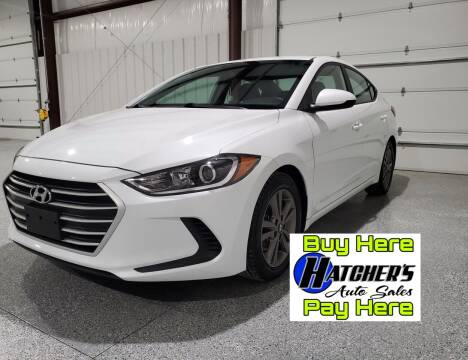 2018 Hyundai Elantra for sale at Hatcher's Auto Sales, LLC - Buy Here Pay Here in Campbellsville KY