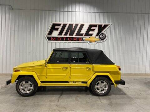 1974 Volkswagen Thing for sale at Finley Motors in Finley ND
