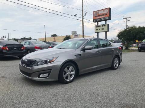 2014 Kia Optima for sale at Autohaus of Greensboro in Greensboro NC