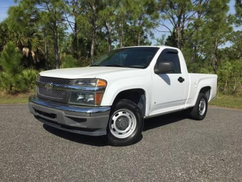 2008 Chevrolet Colorado for sale at VICTORY LANE AUTO SALES in Port Richey FL