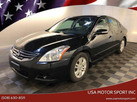 2011 Nissan Altima for sale at USA Motor Sport inc in Marlborough MA