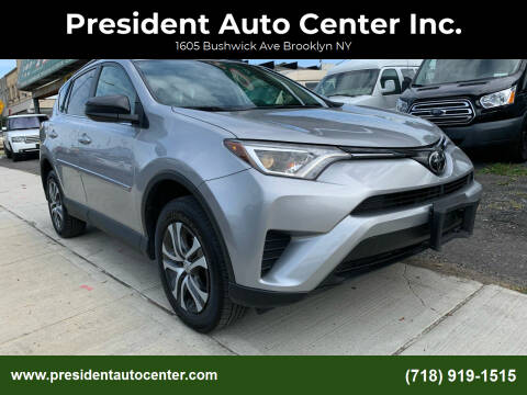 2017 Toyota RAV4 for sale at President Auto Center Inc. in Brooklyn NY