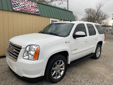 2008 GMC Yukon for sale at Claborn Motors, LLC. in Cambridge City IN