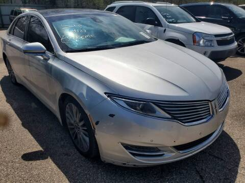 2013 Lincoln MKZ for sale at Extreme Auto Sales LLC. in Wautoma WI