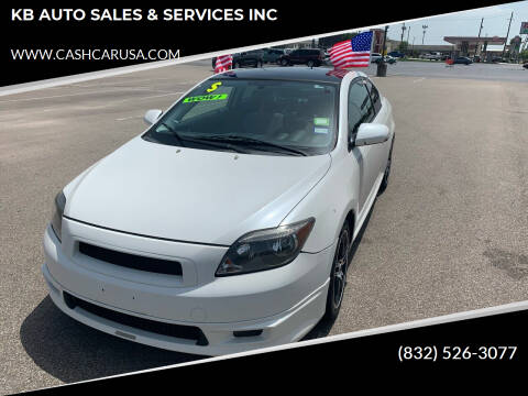 2007 Scion tC for sale at KB AUTO SALES & SERVICES INC in Houston TX