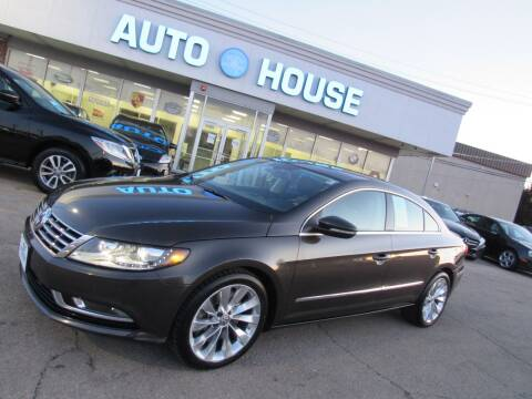 2013 Volkswagen CC for sale at Auto House Motors in Downers Grove IL