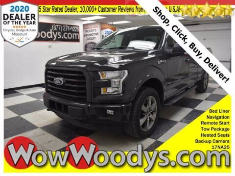 2017 Ford F-150 for sale at WOODY'S AUTOMOTIVE GROUP in Chillicothe MO