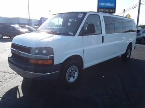 2012 Chevrolet Express Passenger for sale at Strosnider Chevrolet in Hopewell VA