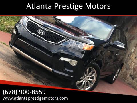 2012 Kia Sorento for sale at Atlanta Prestige Motors in Decatur GA
