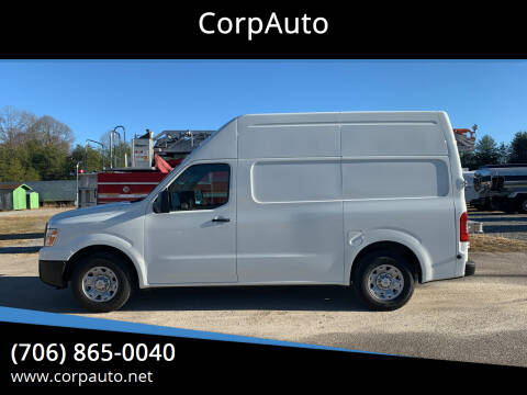 2013 Nissan NV Cargo for sale at CorpAuto in Cleveland GA