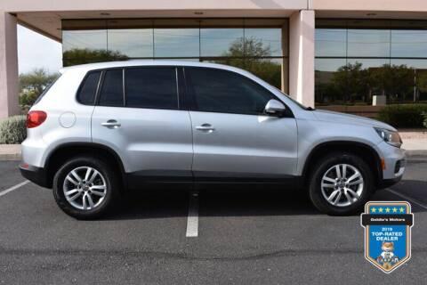 2013 Volkswagen Tiguan for sale at GOLDIES MOTORS in Phoenix AZ