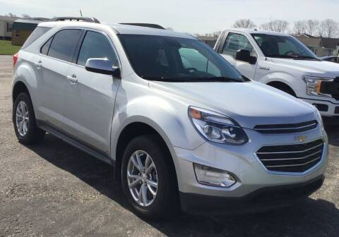2017 Chevrolet Equinox for sale at RAP Automotive in Goshen IN