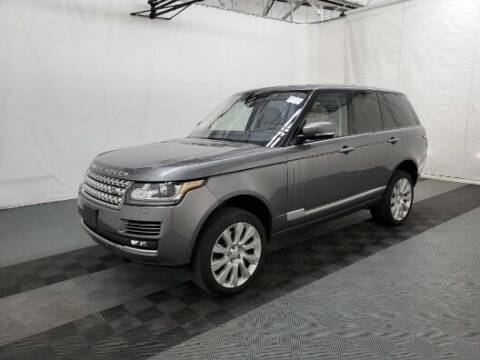2017 Land Rover Range Rover for sale at Florida Fine Cars - West Palm Beach in West Palm Beach FL