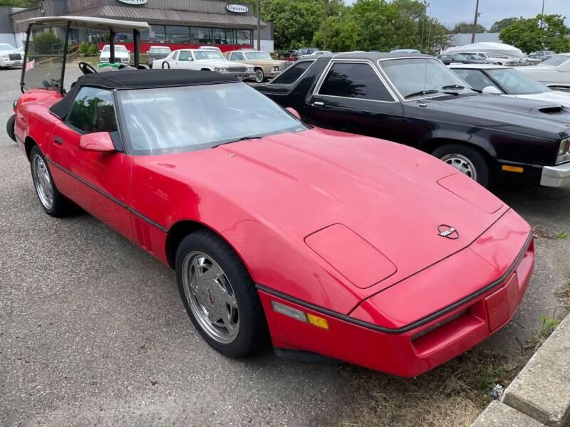 1988 Chevrolet Corvette for sale at Black Tie Classics in Stratford NJ