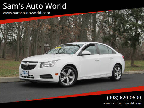 2014 Chevrolet Cruze for sale at Sam's Auto World in Roselle NJ