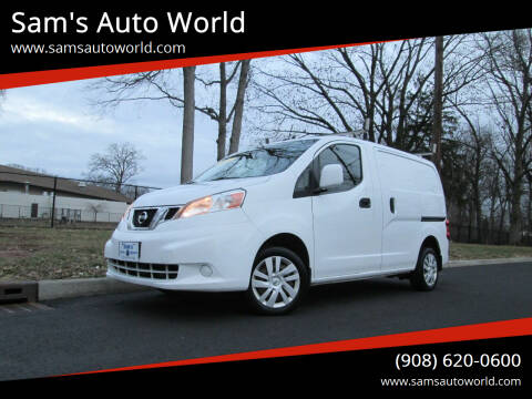 2014 Nissan NV200 for sale at Sam's Auto World in Roselle NJ