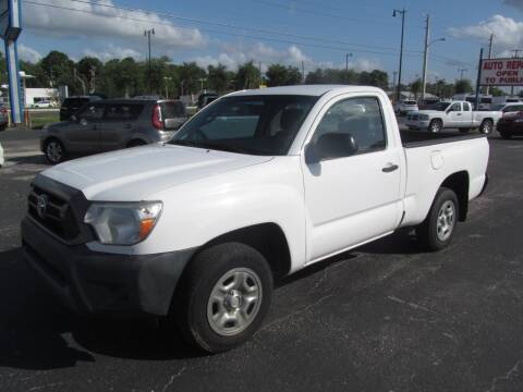 2012 Toyota Tacoma for sale at Blue Book Cars in Sanford FL