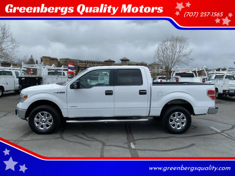 2014 Ford F-150 for sale at Greenbergs Quality Motors in Napa CA